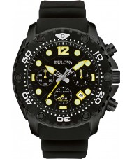 Bulova 98B243 Mens Sea King uhf zwarte chronograaf