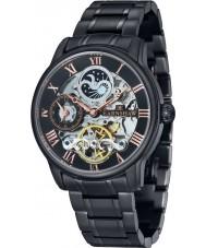 Thomas Earnshaw ES-8006-55 Mens lengte zwart ip stalen armband horloge