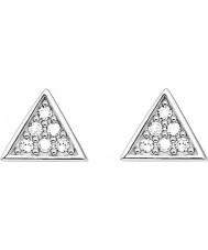 Thomas Sabo D-H0002-725-14 Dames glam en ziel 925 sterling zilveren diamanten oorknopjes