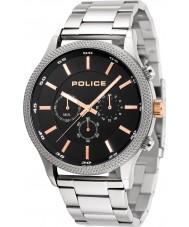 Police 15002JS-02M Mens tempo horloge
