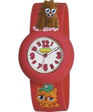Moshi Monsters MMFU-0002 Kids furi rood en gingersnap horloge