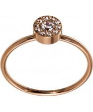 Edblad 41530064-M Ladies thassos mini rose gouden ring - size p (m)