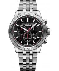 Raymond Weil 8560-ST2-20001 Mens tango zilver staal chronograafhorloge
