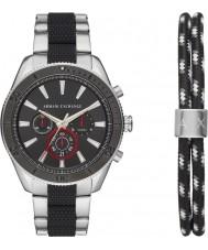 Armani Exchange AX7106 Cadeauset herenhorloge voor sport