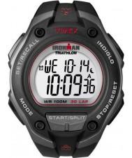 Timex T5K417 Mens Black ironman 30 ronde oversized sport horloge