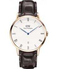 Daniel Wellington DW00100085 Mens dapper 38mm york rose gouden horloge