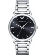 Emporio Armani AR2499 Mens kleden zilveren stalen armband horloge