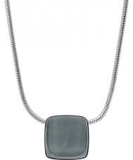 Skagen SKJ0868040 Ladies zee glas zilveren stalen ketting
