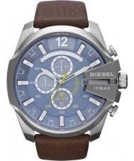 Diesel DZ4281 Mens mega chief bruin chronograaf
