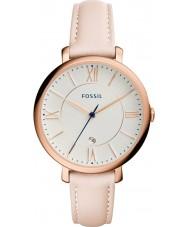Fossil ES3988 Ladies jacqueline lichte blos lederen band horloge