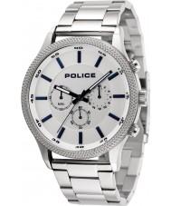 Police 15002JS-04M Mens tempo horloge