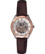 Rotary GS90511-21 Mens les originales jura automatische skelet nam gouden horloge