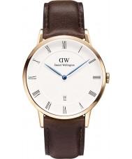 Daniel Wellington DW00100086 Mens dapper 38mm Bristol rose gouden horloge