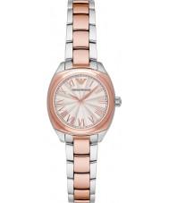 Emporio Armani AR1952 Dames klassieke two tone stalen armband horloge