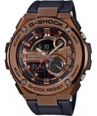 Casio GST-210B-4AER Mens G-shock auto LED verlichting zwart kunststof band horloge