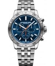 Raymond Weil 8560-ST2-50001 Mens tango zilver staal chronograafhorloge