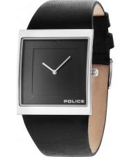 Police 14694MS-61 Mens skyline x zwart lederen band horloge