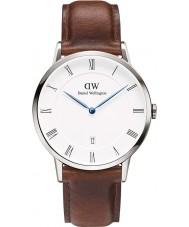 Daniel Wellington DW00100087 Mens dapper 38mm st mawes zilveren horloge