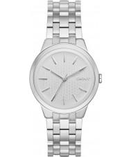 DKNY NY2381 Ladies park helling zilveren stalen armband horloge