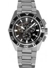Rotary AGB90089-C-04 Mens AquaSpeed pacific zwart zilver chronograafhorloge