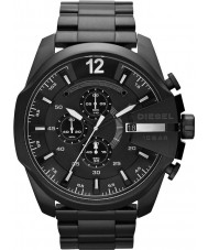 Diesel DZ4283 Mens mega chief zwart ip chronograafhorloge