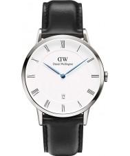 Daniel Wellington DW00100088 Mens dapper 38mm Sheffield zilveren horloge