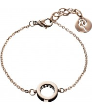 Edblad 78905 Ladies monaco rose goud dunne armband