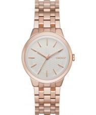 DKNY NY2383 Ladies park helling rose goud verguld horloge
