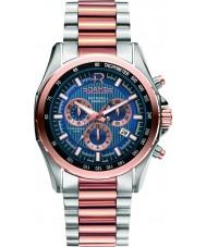 Roamer 220837-49-45-20 Mens rockshell chronograaf two tone stalen armband horloge