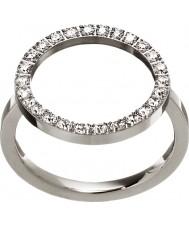 Edblad 3151441907-S Ladies glow zilver stalen ring - de grootte n (en)