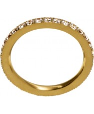 Edblad 216130151-M Ladies gloed mat gouden ring - size p (m)
