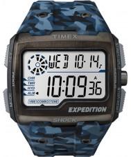 Timex TW4B07100 Mens raster shock blauwe hars Strap Watch