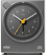 Braun BNC004GYGY Spraakbesturing wekker - grijs