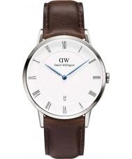 Daniel Wellington DW00100090 Mens dapper 38mm Bristol zilveren horloge