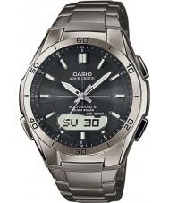 Casio WVA-M640TD-1AER Mens golf receptor titanium op zonne-energie horloge