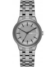 DKNY NY2384 Ladies park helling gunmetal stalen armband horloge