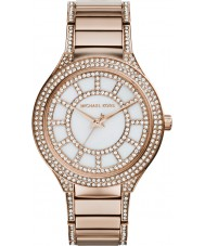 Michael Kors MK3313 Ladies Kerry gouden stalen armband horloge