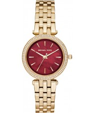 Michael Kors MK3583 Ladies mini Darci gouden stalen armband horloge