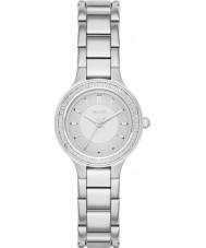 DKNY NY2391 Ladies kamers zilveren stalen armband horloge