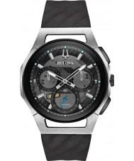 Bulova 98A161 Mens progressief curv horloge