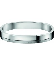 Calvin Klein KJ3PMD09010L Mens gebouwd zilver toon stalen armband