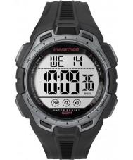 Timex TW5K94600 Digitale full marathon zwart en zilver chrono horloge