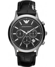 Emporio Armani AR2447 Heren Classic chronograaf zwart horloge