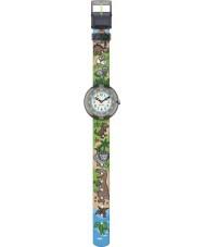 Flik Flak FBNP048 Jongens sauruses terugkeer multicolour horloge