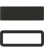 Swatch S689000572 Nieuwe gent zwarte siliconen s-loop