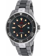 Invicta 90283 Mens pro duiker two tone gemengde band horloge