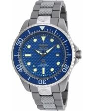 Invicta 90284 Mens pro duiker two tone gemengde band horloge