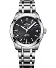 Rotary LB90165-04 Ladies uurwerken legacy zilveren stalen armband horloge