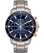 Bulova 98B301 Heren marine ster horloge
