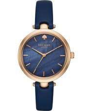 Kate Spade New York KSW1157 Ladies holland blauw lederen band horloge